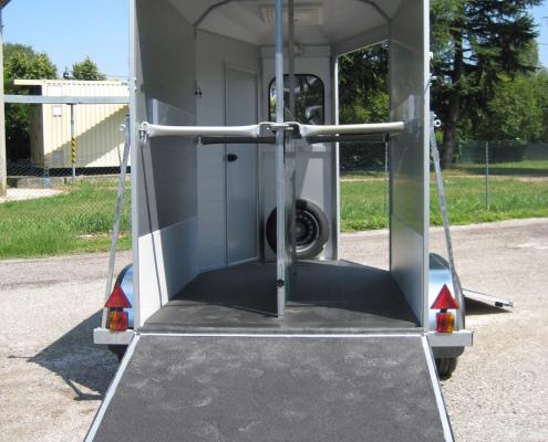trailer cavalli alluminio