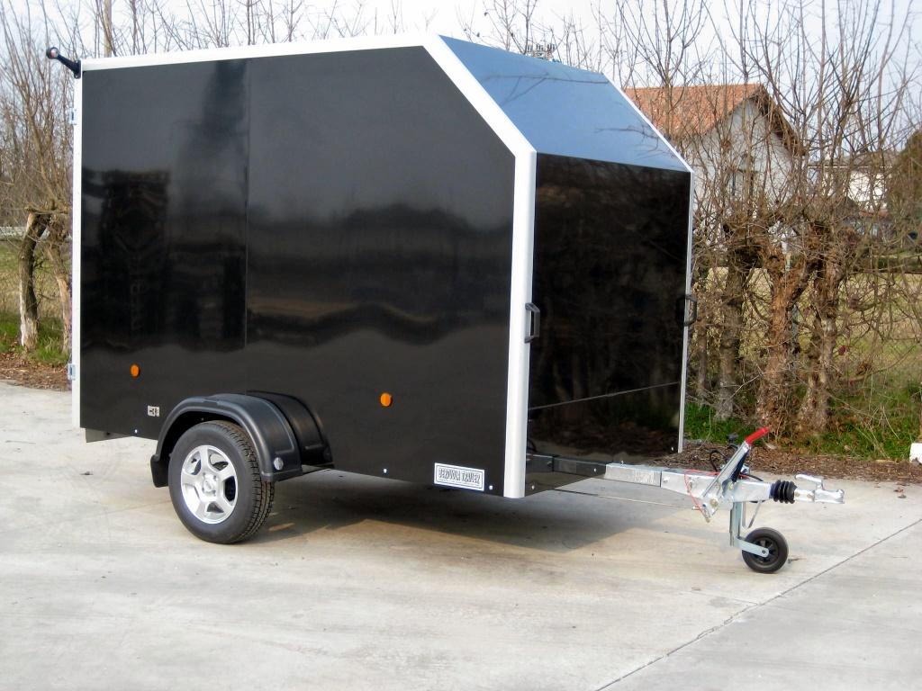 Rimorchio furgonato w allu economy bertuola trailer srl for Bertuola rimorchi