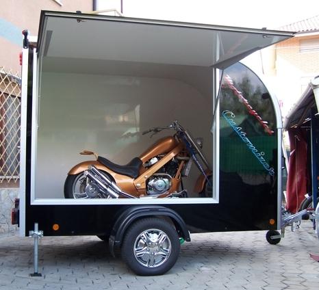 Rimorchio furgonato bertuola trailer srl for Bertuola rimorchi