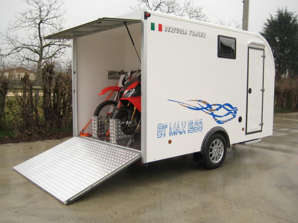 Rimorchio con living bertuola trailer srl for Bertuola rimorchi
