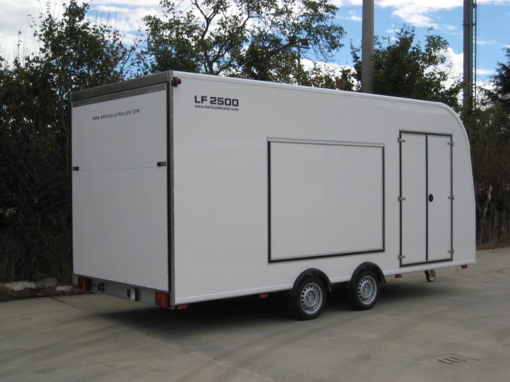 Rimorchio furgonato auto lf 3000 bertuola trailer srl for Bertuola rimorchi