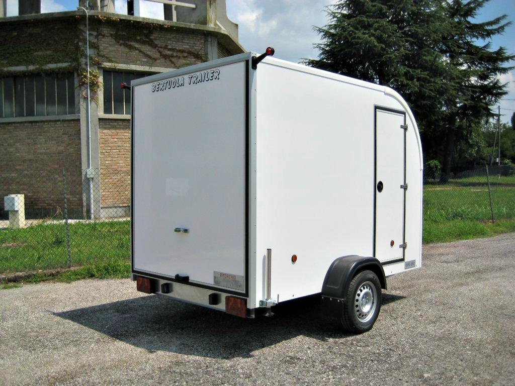 Rimorchio furgonato w round bertuola trailer srl for Bertuola rimorchi