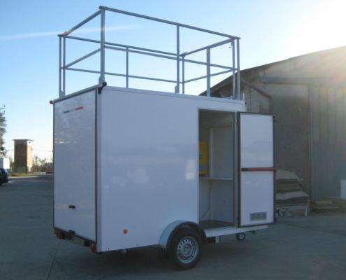 laboratorio mobile per analisi ambientali
