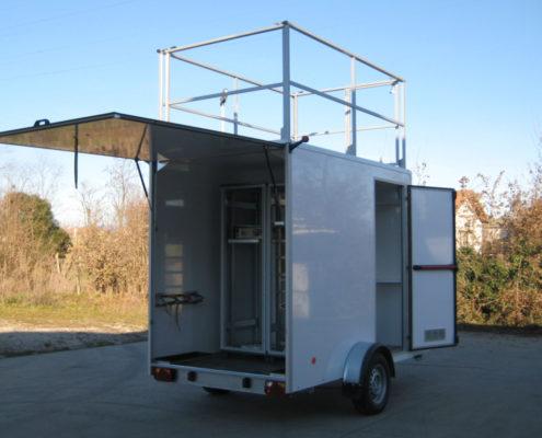 rimorchio monitoraggio qualità dell'aria